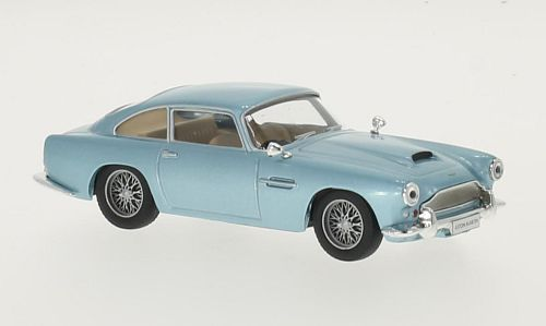 Aston Martin DB 4 (1958) - metallic light blue - 1:43 - WhiteBox