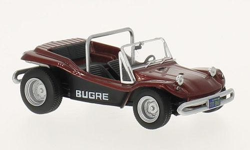 Bugre Buggy (1970) - metallic dark red - 1:43 - WhiteBox