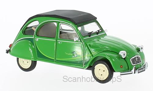 Citroen 2CV (1986), green - 1:43 - WhiteBox