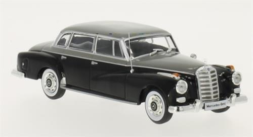 Mercedes-Benz 300d (W189) (1957) - black/grey - 1:43 - WhiteBox