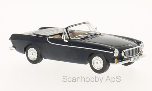 Volvo P1800 Convertible (1963), dark blue - 1:43 - WhiteBox