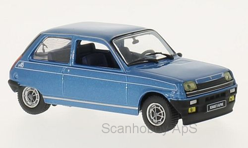 Renault 5 Alpine (1976), blue metallic - 1:43 - WhiteBox