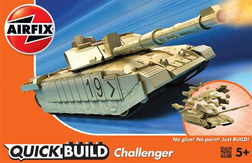Challenger Tank - Airfix QUICK BUILD