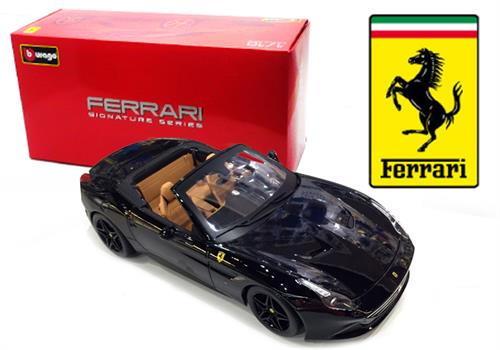 Ferrari California T, open, black - Signature Series (High Quality) - 1:18 - Bburago