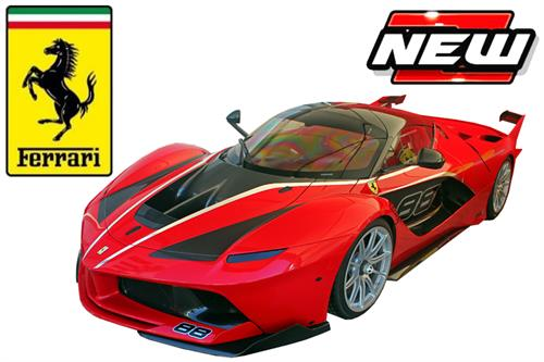 Ferrari FXX-K #88, red - Signature Series (High Quality) - 1:18 - Bburago