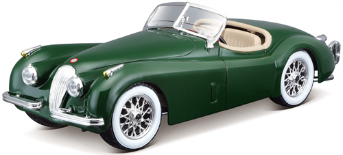 Jaguar XK120 Roadster, green - 1:24 - Bburago