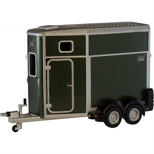 Ifor Williams Trailers HB506 Horse Box, black - 1:32 - Britains