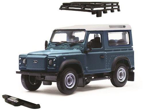 Land Rover Defender, blue metallic - 1:32 - Britains