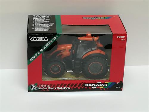 Valtra T254V tractor, metallic orange - 1:32 - Britains