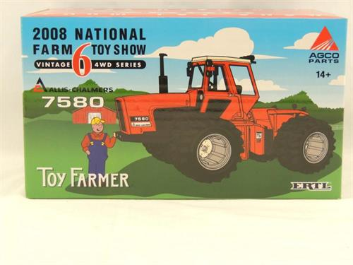 Allis Chalmers 7580 4wd - Toy Farmer - 1:32 - Ertl