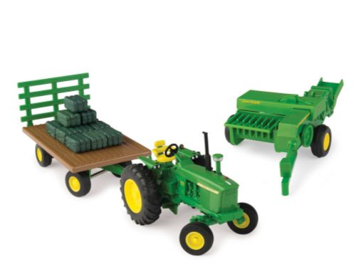 John Deere 4020 - 3 piece haying set - 1:32 - Ertl