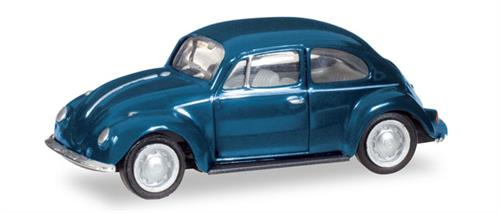 VW Beetle, steel blue - 1:87 / H0 - Herpa