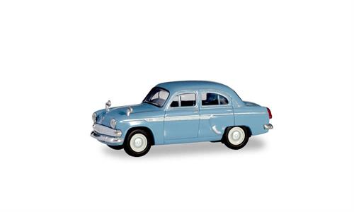 Moskwitsch 403, light blue - 1:87 / H0 - Herpa