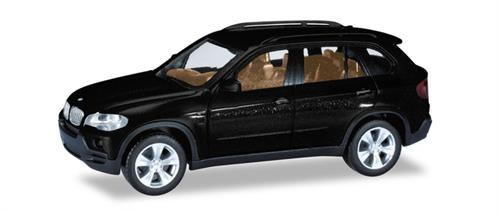BMW X5, black metallic - 1:87 / H0 - Herpa