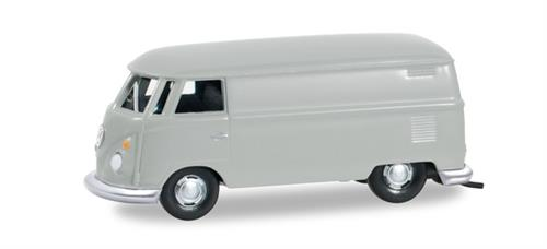 VW T1 van, light grey - 1:87 / H0 - Herpa (Herpa Basic)