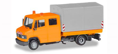 "Mercedes-Benz T2 cabin pick-up/canvas ""communal"" - 1:87 / H0 - Herpa"