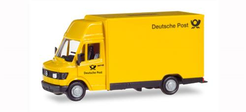 "Mercedes-Benz 207D Kögel ""Deutsche Post"" - 1:87 / H0 - Herpa (Herpa Basic)"
