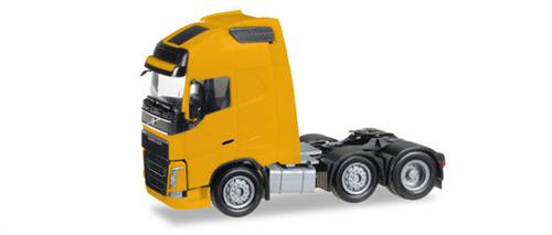 Volvo FH Gl. XL 6x2 rigid tractor, yellow - 1:87 / H0 - Herpa