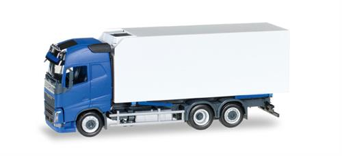Volvo FH Gl. refrigerated-LKW, blue/white - 1:87 / H0 - Herpa