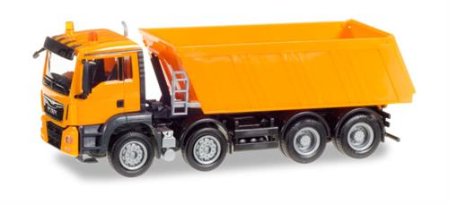 MAN TGS M Euro 6 Truck-mounted tipper, 4-axle - 1:87 / H0 - Herpa