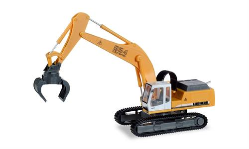 Liebherr crawler excavator 954 Litronic with sorting grabs - 1:87 / H0 - Herpa
