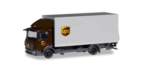 "Mercedes-Benz Atego box truck with liftgate ""UPS"" - 1:87 / H0 - Herpa"