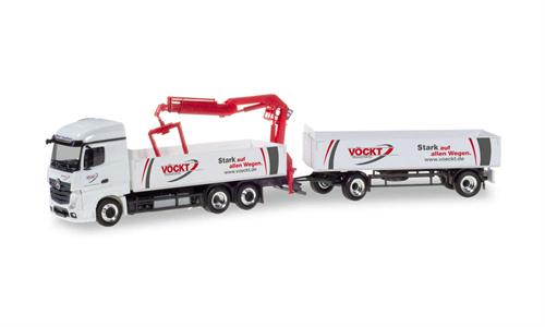"Mercedes-Benz Actros StreamSpace 2.5 pick-up trailer ""Vöckt"" - 1:87 / H0 - Herpa"