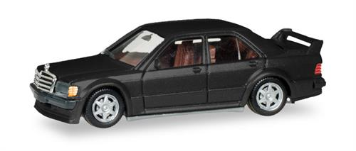Mercedes-Benz E 190 (E 2,5 16V), black metallic - 1:87 / H0 - Herpa