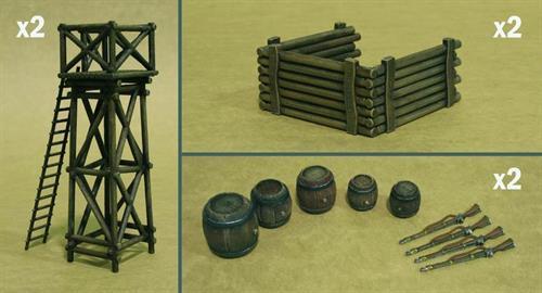 Battlefield Accessory Set - 1:32 - Italeri