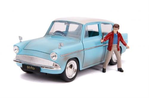 1959 Ford Anglia with Harry Potter figure - 1:24 - Jada Toys