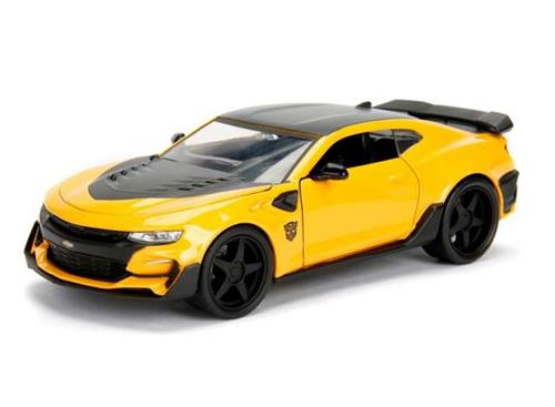 "Transformers: 2016 Chevrolet Camaro ""BumbleBee"" - ""Transformers (5) - The Last Knight"" - 1:24 - Jada Toys"