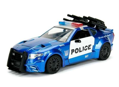 "Transformers: ""Barricade"" Police Car - ""Transformers (5) - The Last Knight"" - 1:24 - Jada Toys"