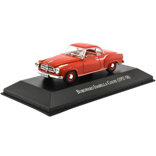 Borgward Isabella Coupé (1957-58), red - 1:43