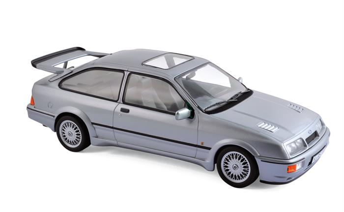 Ford Sierra RS COSWORTH, grey metallic (1986) - 1:18 - Norev