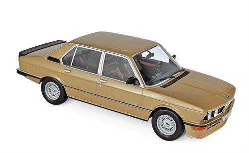 BMW M535I (E12), gold metallic (1980) - 1:18 - Norev