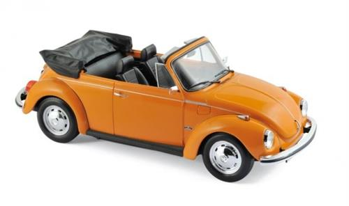 VW 1303 Cabriolet (1973), orange - 1:18 - Norev