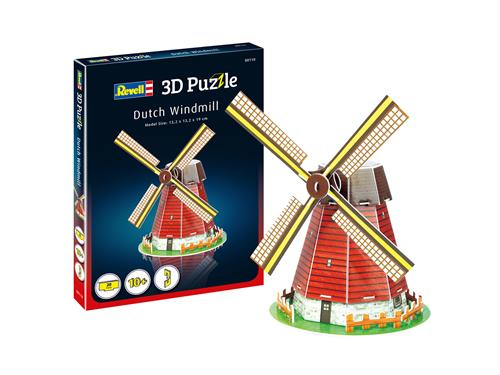 3D puzzle Dutch Windmill - Revell