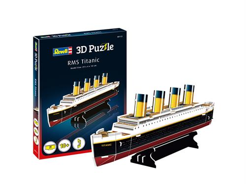 3D puzzle RMS Titanic (small) - Revell