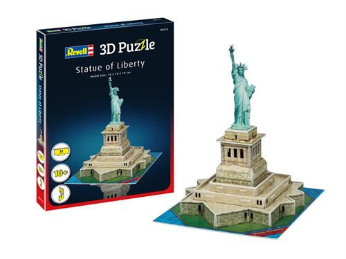 3D puzzle Statue of Liberty - Revell