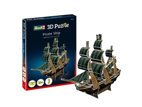 3D puzzle Pirate Ship - Revell
