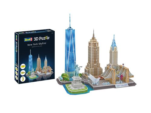 3D puzzle New York Skyline - Revell