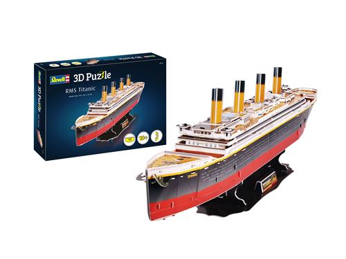 3D puzzle RMS Titanic (large) - Revell