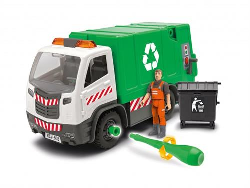 Garbage Truck - 1:20 - Junior Kit - Revell
