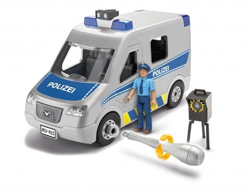 Police Van - 1:20 - Junior Kit - Revell