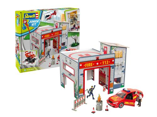 Play Set Fire Station - 1:20 - Junior Kit - Revell
