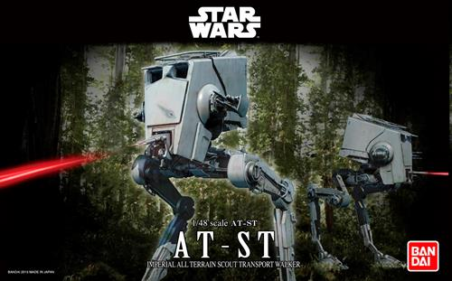 STAR WARS AT ST - 1:48 - Revell/BANDAI
