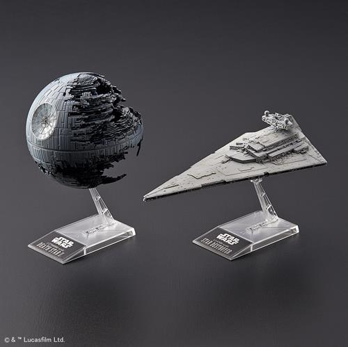 STAR WARS Death Star II + Imperial Star Destroyer - 1:2700000/1:14500 - Revell/BANDAI