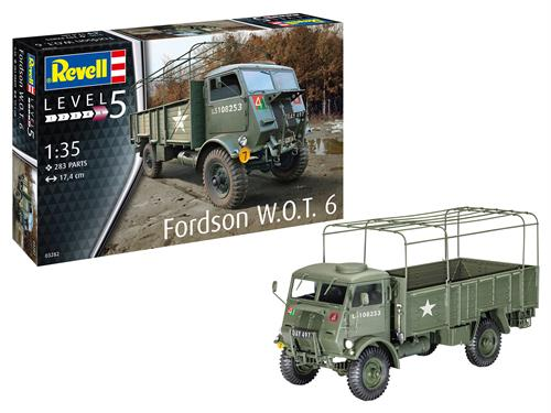 Fordson W.O.T. 6 - 1:35 - Revell