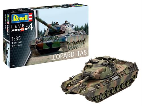 Leopard 1A5 - 1:35 - Revell
