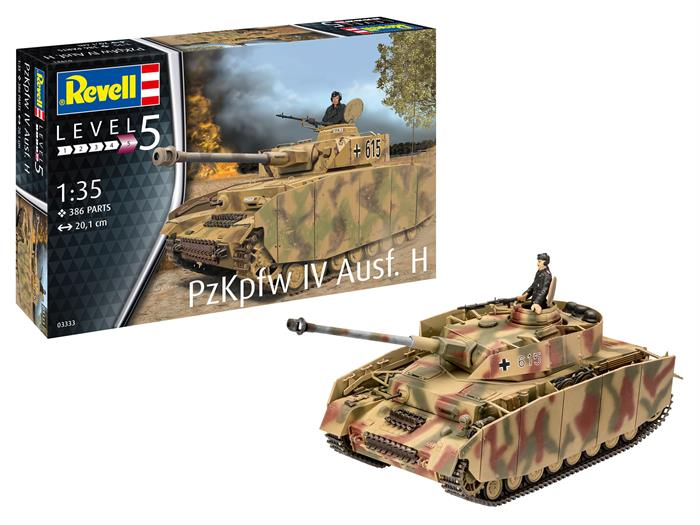Panzer IV Ausf. H - 1:35 - Revell